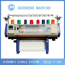 single system type,cotton yarn scarf knitting machines with jacquard pattern
