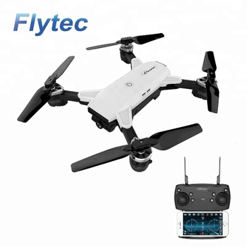Flytec YH -19HW Selfie Altitude Hold Drone Wide Angle HD RC Camera Drone WiFi RC FPV Quadcopter Helicopter VS Visuo XS809HW