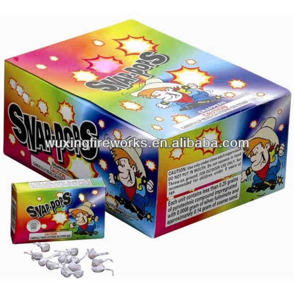 Pop Pops Snapper Safety Toy Fireworks / T8500 Fireworks For Children