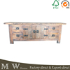Industrial Reclaimed Wood TV Cabinet