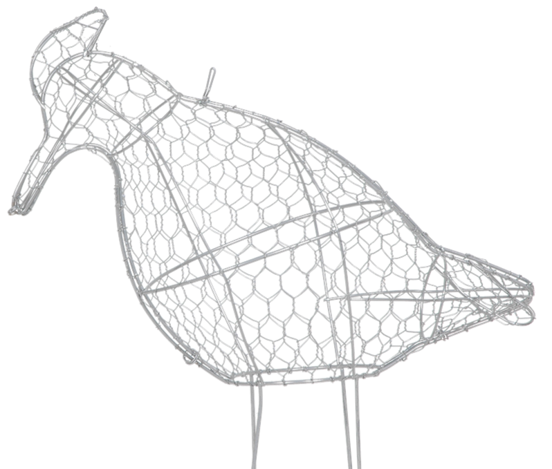 Beautiful Animal Wire Topiary Frame For Garden Decoration