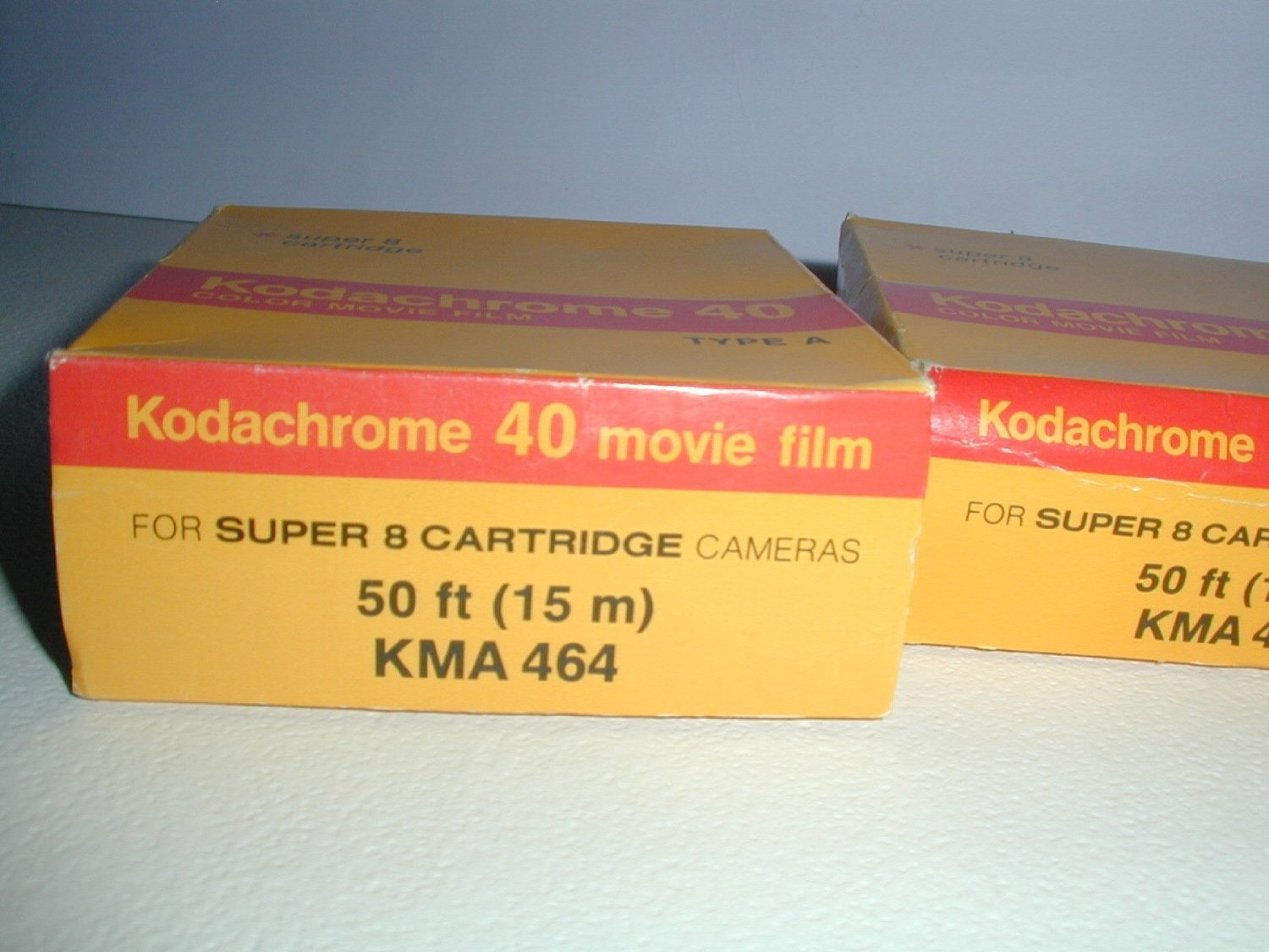 Kodak KMA-464 Super 8 Kodachrome 40 Movie Film