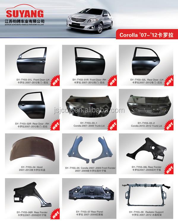 Body Panels Car Rear Panel For Toyota Hilux Vigo Oem 65700