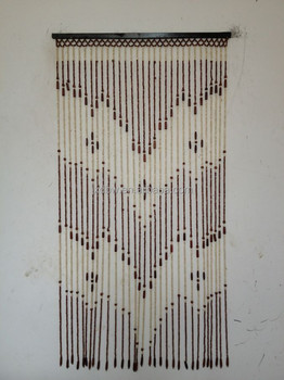 Decorative Wooden Beads Door Curtain
