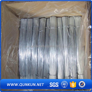 electro galvanized low carbon annealed straight cut steel tie wire