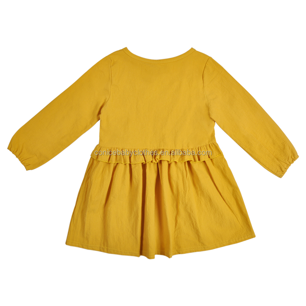 CONICE baby cotton clothes girls dress wholesale clothing market clothes summer baby dress 2019