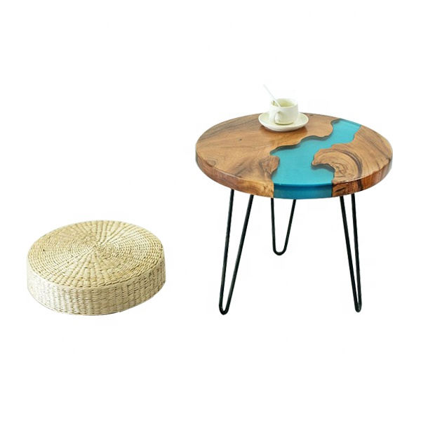 Custom size blue round river table epoxy resign coffee table, View epoxy  resin table, Mooka Furniture Product Details from Xiamen Mooka Import And