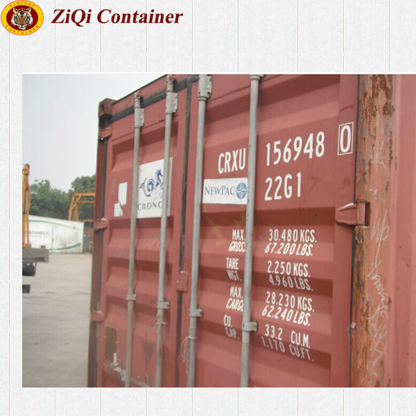 ISO shipping container used for sale with CSC plate in good condition