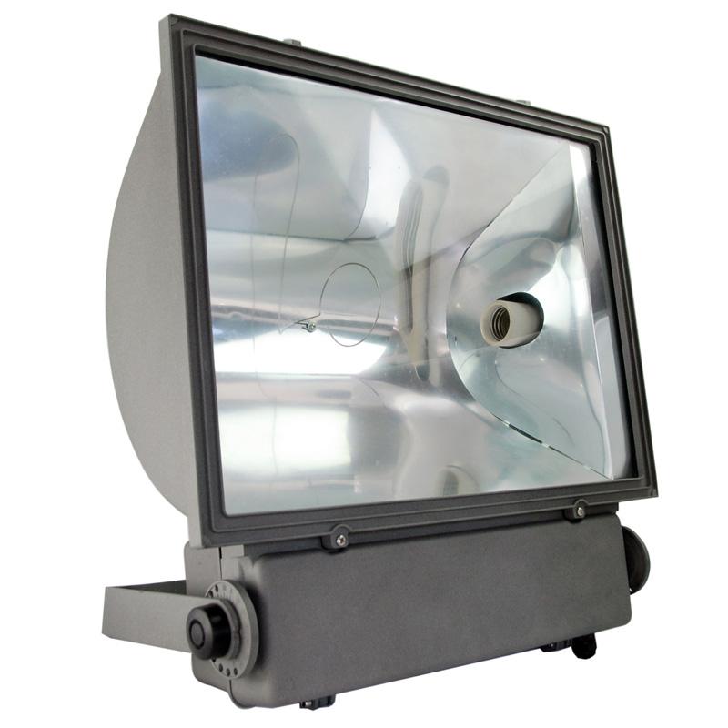 400W Outdoor Floodlight on A Spike 400W IP54 GREEN BODY Garden Light New
