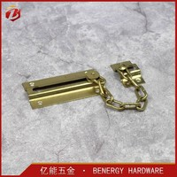 Keyed Chain Door Guard Locking Door Security Chain Lock Safety Slide Bolt Entry Door Chain Lock