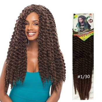 Hot Sell Heat Resistance 24inch 12strands Janet Collection 2x King