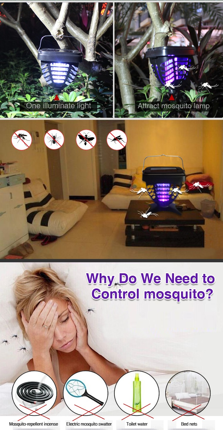 Aosion Uv Lamp Fly Swatter Mosquitoe Killer Mosquito Repellent ...