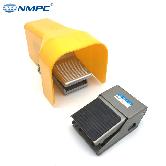 NMPC brand 3 way alloy material Pneumatic Air Foot Valve to control air FV320