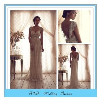Neuesten Design Reich Hinten Offen Hochzeitskleid Französisch Stil ...