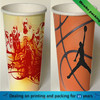 Disposable single wall paper cup for drink/ wholesale single wall paper cup