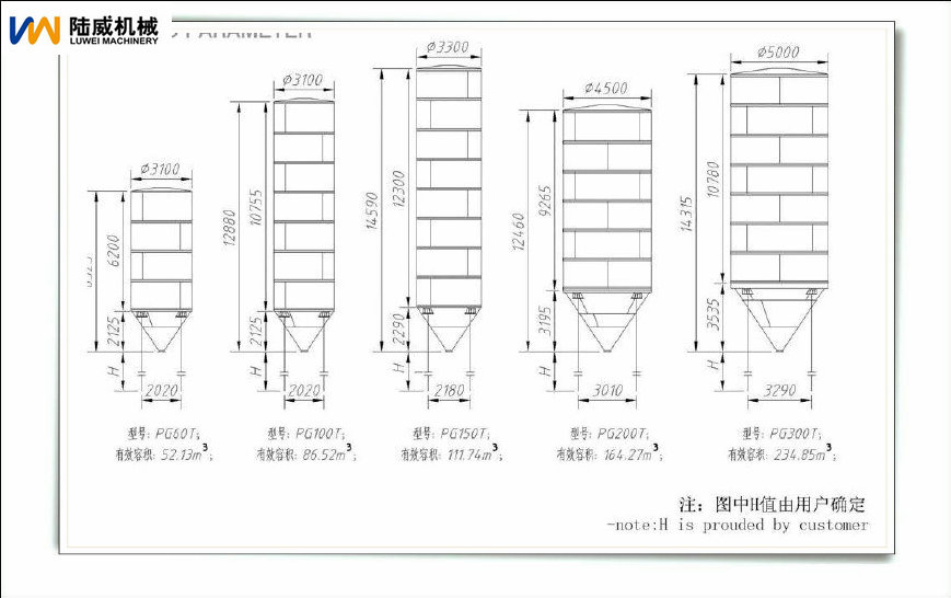 100 Ton Silo For Animal Feed Silo Manufacturers Buy