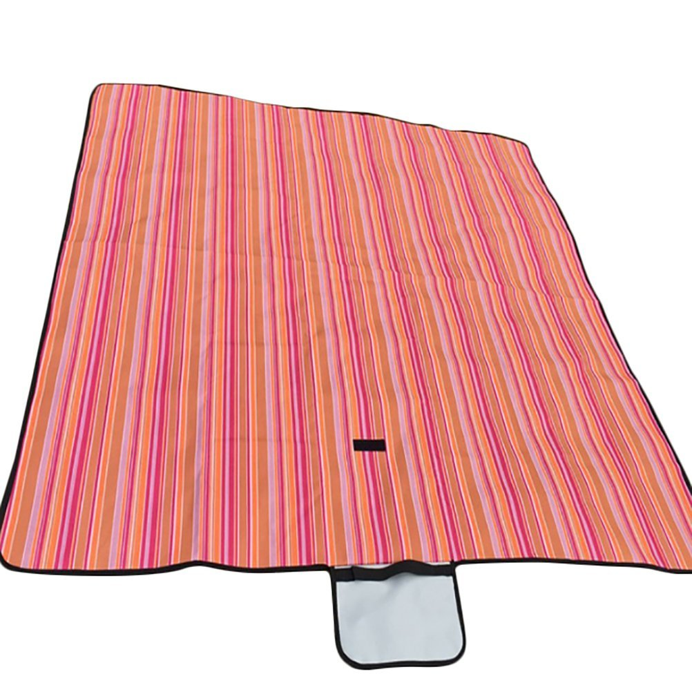 "600D Oxford Outdoor Picnic Mat Waterproof Camping Pad Moistureproof Mat Portable (59""x79"", color3)"