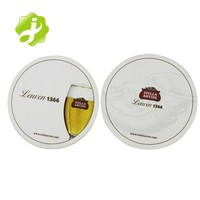 Wholesale Custom Printed Round Cheap Absorbent Paper Drink Cup Cardboard beer coasters
