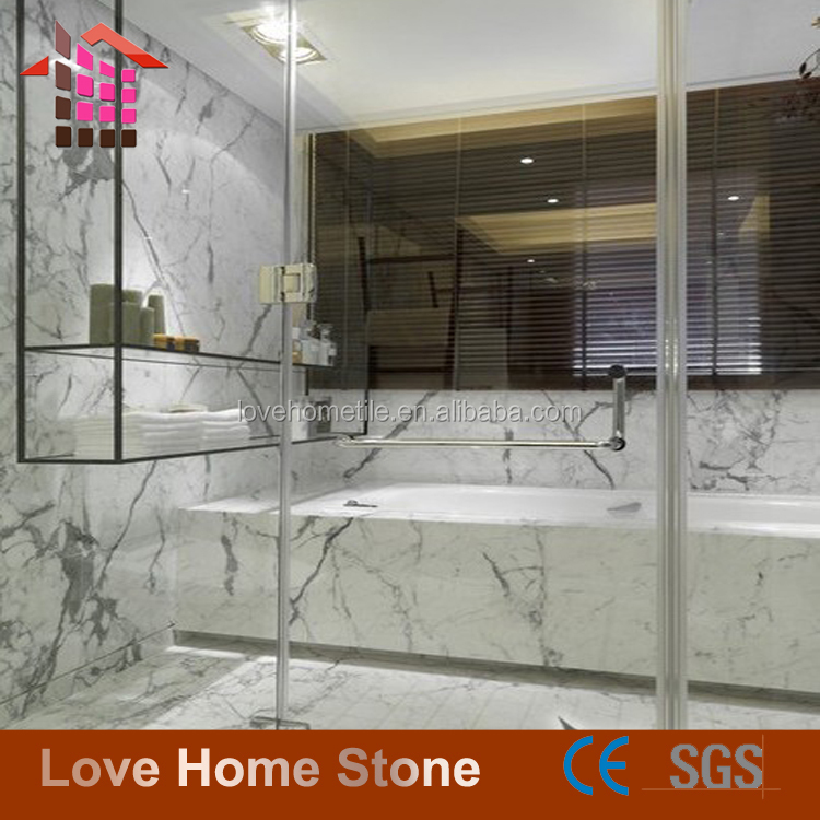 China Factory Direct Sales Statuario white marble tile/slab,Wall Floor Marble Slab