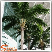 Landscape green coconut tree brand factory outlets paper coconut tree low prices coconut ornaments