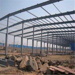 Portal Frame Design The Steel Structure Mechanical Workshop (DFX-SS079)