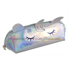 Transparent Pencil/Pen Case, Cosmetic Pouch w/Tassels Zipper