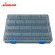 Wholesale Eco-friendly Small plastic storage container for fishing hook detachable makeup container box