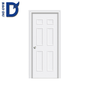 Top BAODU DOOR American Steel Door/ Door Entry Wrought Iron/ Safety Door Design With Grill