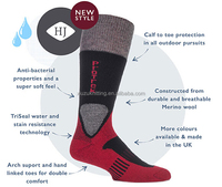 HJ Hall ProTrek Challenger Merino Wool Heavy Weight socks