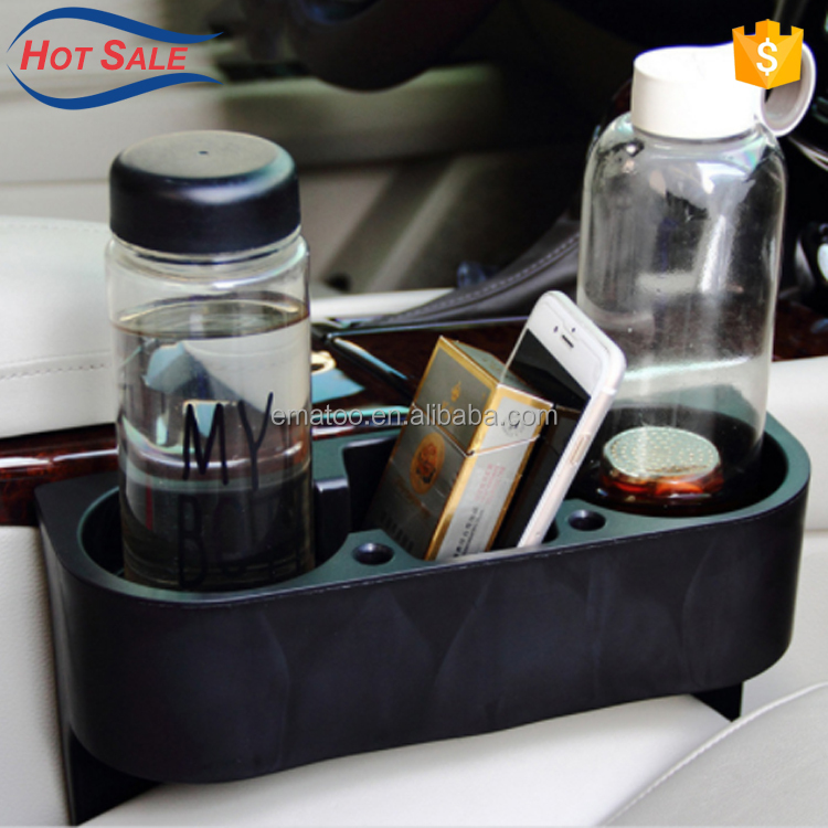 Multi Purpose Racks Car Accessories Car Cup Holder Drink Holder Phone Storage Box With High Quality
