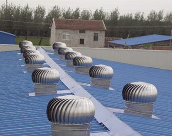 Aves De Corral Techo Montado Extractor De Aire Industrial