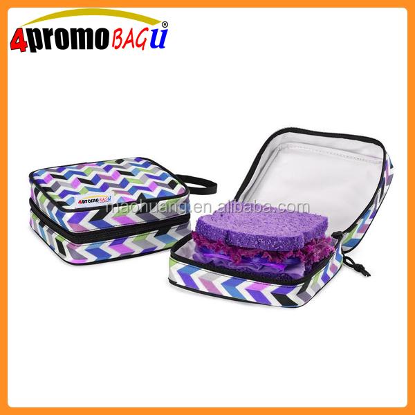 Strips Insulated Sandwich Bag