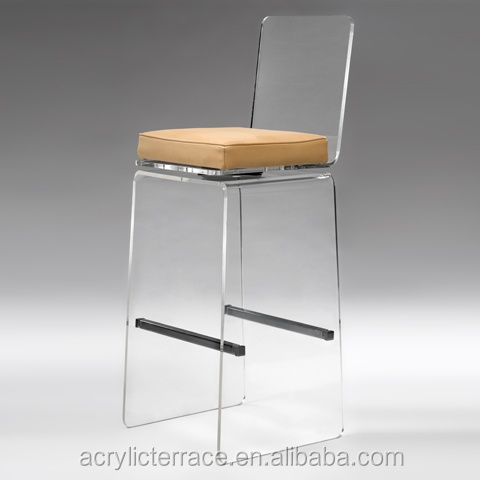 acrylic rolling bar stool clear acrylic bar stools acrylic bar stools with cushion