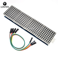 MAX7219 Dot Matrix Module RGB led display display stand