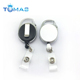60cm 80cm Multifunctional Multicolor Reel Retractable Keychain ID Card Holder Keyring Key Chain