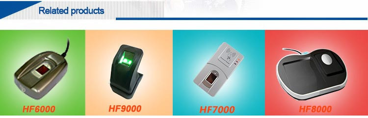 China Factory Fingerprint Sensor Micro USB biometric Fingerprint Scanner Price(HF 5000)