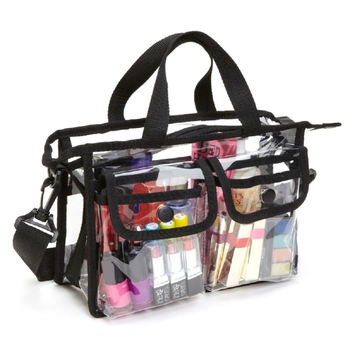 Pvc Clear Plastic Makeup Artist Set Bag Cosmetic Organizer Storage Case