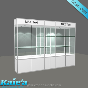 wholesale glass display cases/used glass display cases/glass display case with light