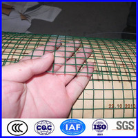Building construction welded wire mesh panels manufacture