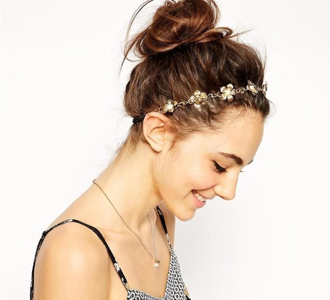 2014 fashion baroque luxurious metal hair accessories