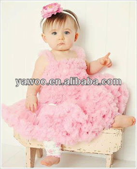Factory Price Charming Fluffy Baby Tutu Light Pink Petti Skirt ...