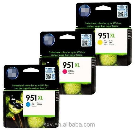 printing ink and cartridge for hp 950xl 951xl ink cartridge