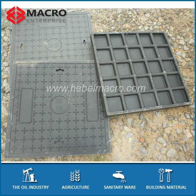 EN124 Waterproof Fiberglass Manhole Cover With Frame