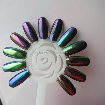 Bin Nails Art Polarized Chrome Metallic Mirror Pigment Powder Buy