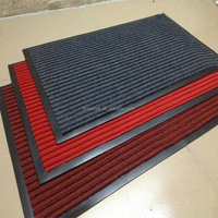 high quality anti slip cheap ribs carpet with pvc backing