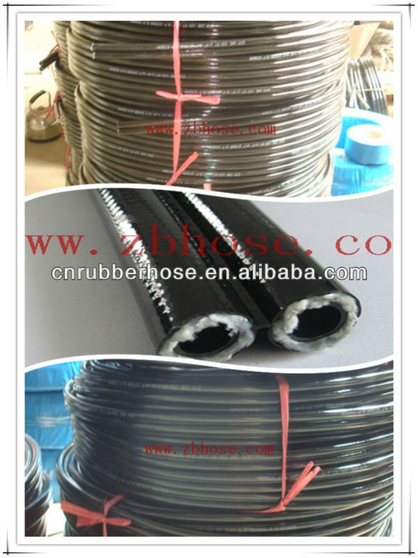 new prod industrial Hydraulic Hose SAE 100R7/EN855 R7 High & Middle Pressure Synthetic Fibre Braided Rubber Resin Hose/tube/pipe