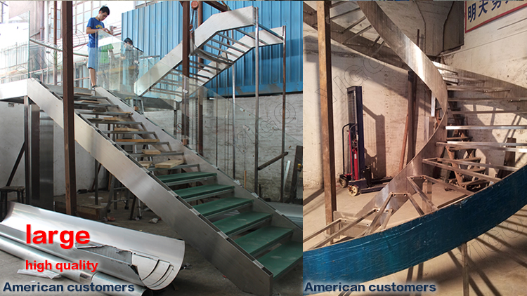 Outdoor Staircase Design / Outdoor Metal Staircase/ Exterior Stair Design
