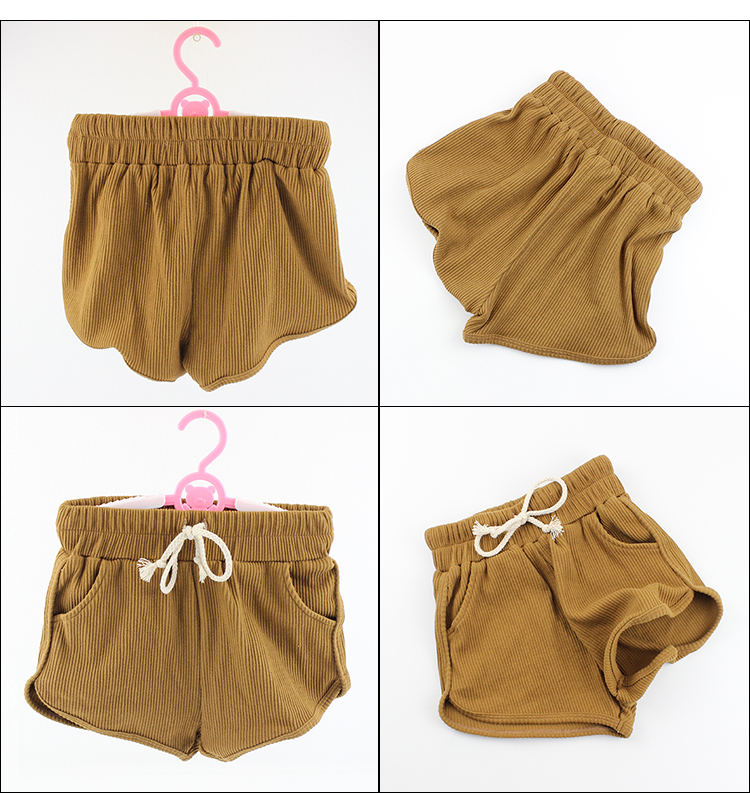 Summer Shorts Toddler Girl 2019 Girls Panties Children's Ribbed Cotton Sports Board Shorts
