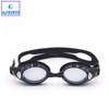 wide vision best UV-shield mirror coated myopia swimming goggles with PC lens