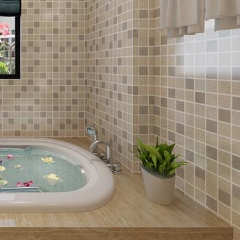 Dekorative Selbstklebende Pvc Fliesen Mosaik Ziegel 3d Wallpaper Für ...